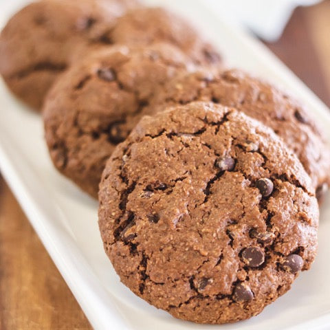 Chocolate Mint Cookies - FOUR
