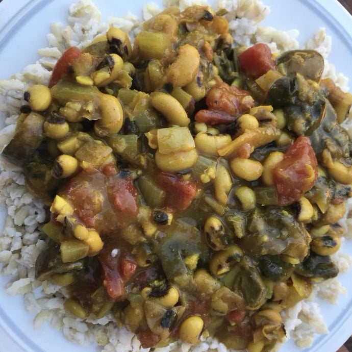 LH Indian Spiced Black Eyed Peas & Coconut Rice