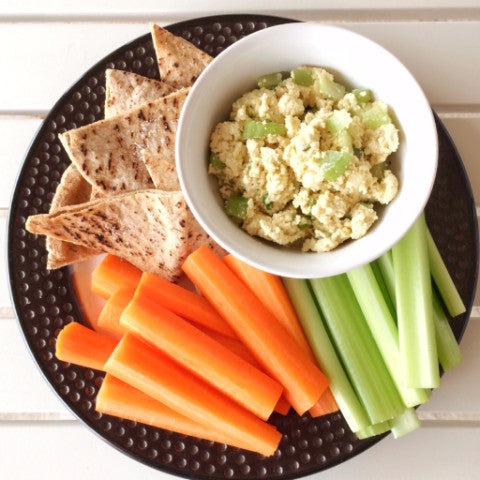 Eggless Salad Snack Plate