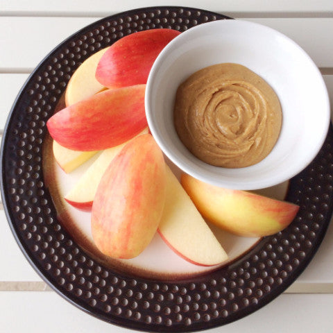 PB & Apples Snack Plate
