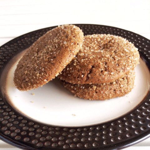 LH Ginger Molasses Cookies - FOUR
