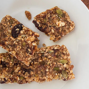 LH Sour Cherry & Pumpkin Seed Snack Bars