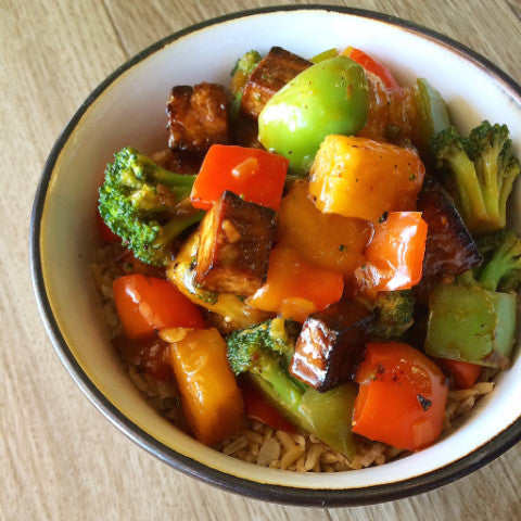 Sweet & Sour Tofu & Vegetables