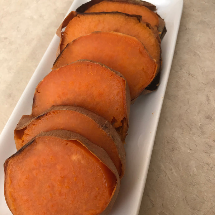 LH Baked Sweet Potato Slices