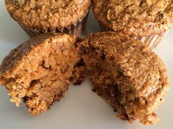 Carrot Walnut Muffins