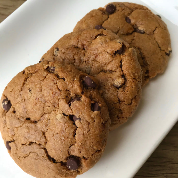 .  Peanut Butter Chocolate Chip Cookies - FOUR