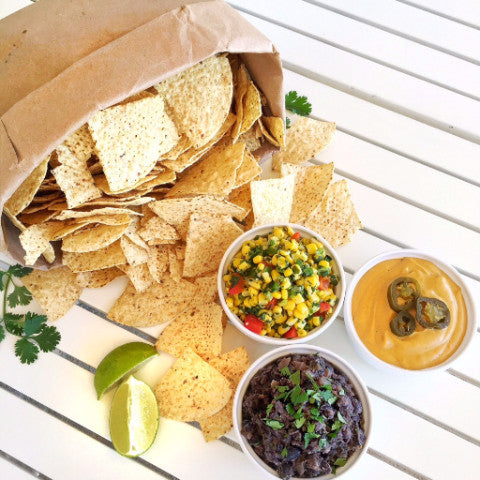 PARTY PACK: Nacho Chips & Dips