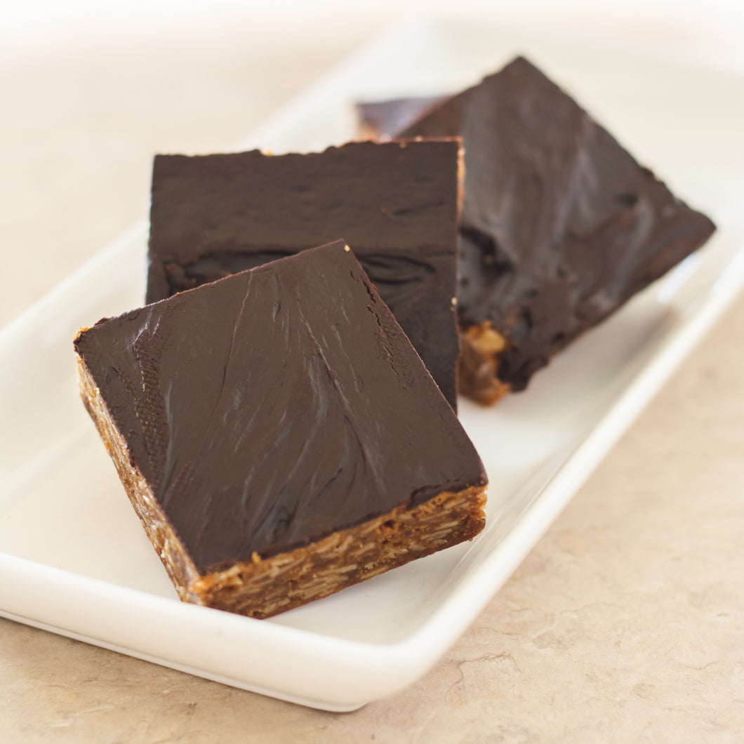 Chocolate Frosted Peanut Butter Bar - FOUR