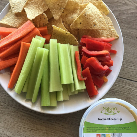 PARTY PACK: Veggie Platter w/ Nacho Cheese & Chips