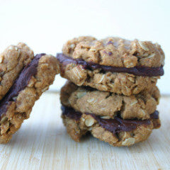 .  PB Chocolate Sandwich Cookies -FOUR
