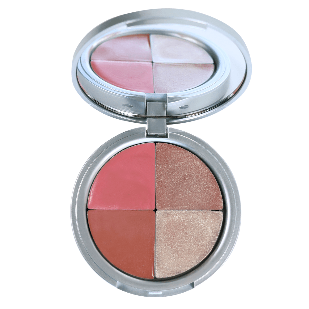 Highlight & Glo Quad Blushes Luka Inc.