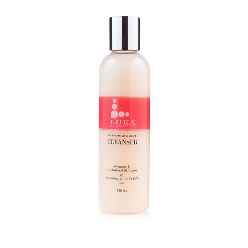 Organic Chamomile and Aloe Cleanser Face Cleanser Luka Inc.