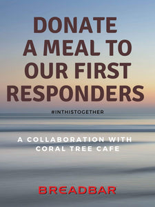 FIRST RESPONDERS MEAL PROGRAM - CTC