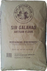 FLOUR WHEAT - King Arthur Sir Galahad All Purpose Flour, 50 Lbs.