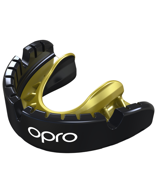 OPRO Gold Self-Fit Mouthguard for Braces