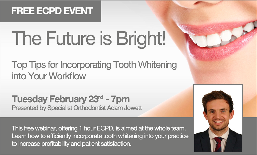 The Future is Bright! Top Tips for Incorporating Tooth Whitening into Your Workflow