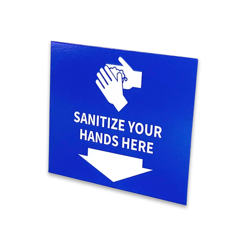 Sanitiser Sign