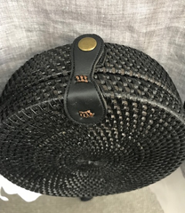 Rattan Round Woven Bag