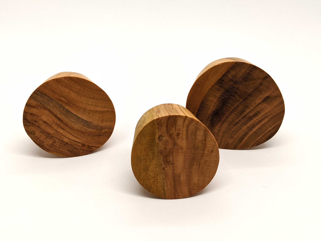 Cherrywood Wall Hooks (3 Pack)