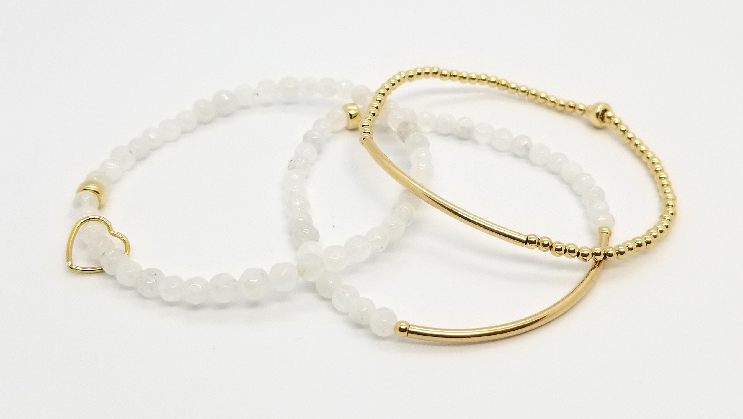 Moonstone Gold Stack