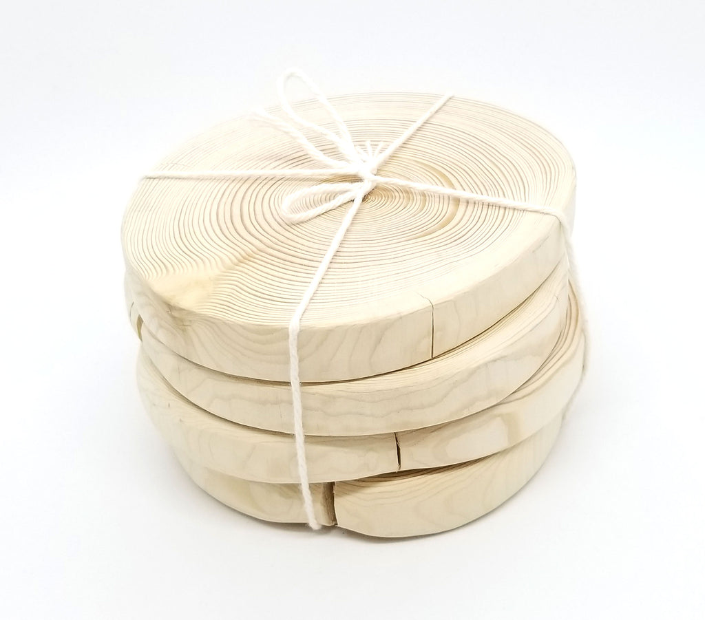 Handmade Wood Coaster Set