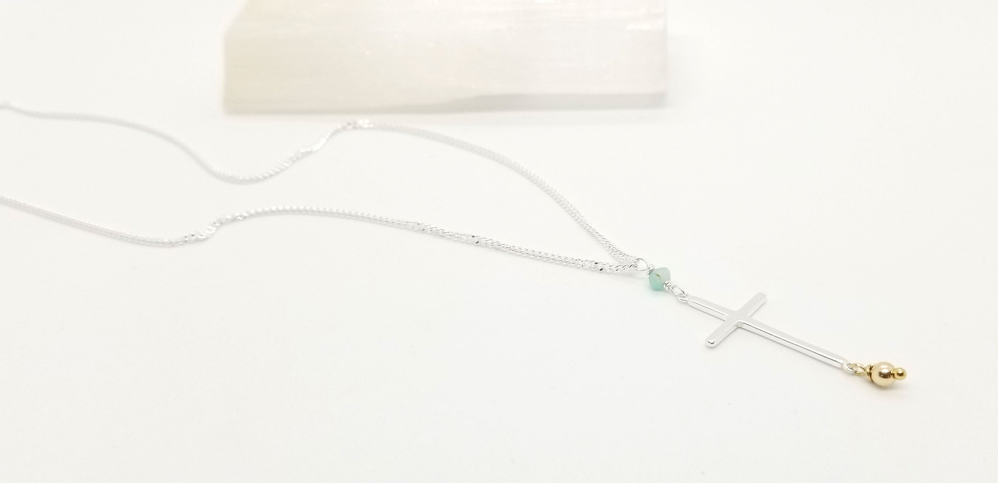 Spirit Silver Amazonite Necklace