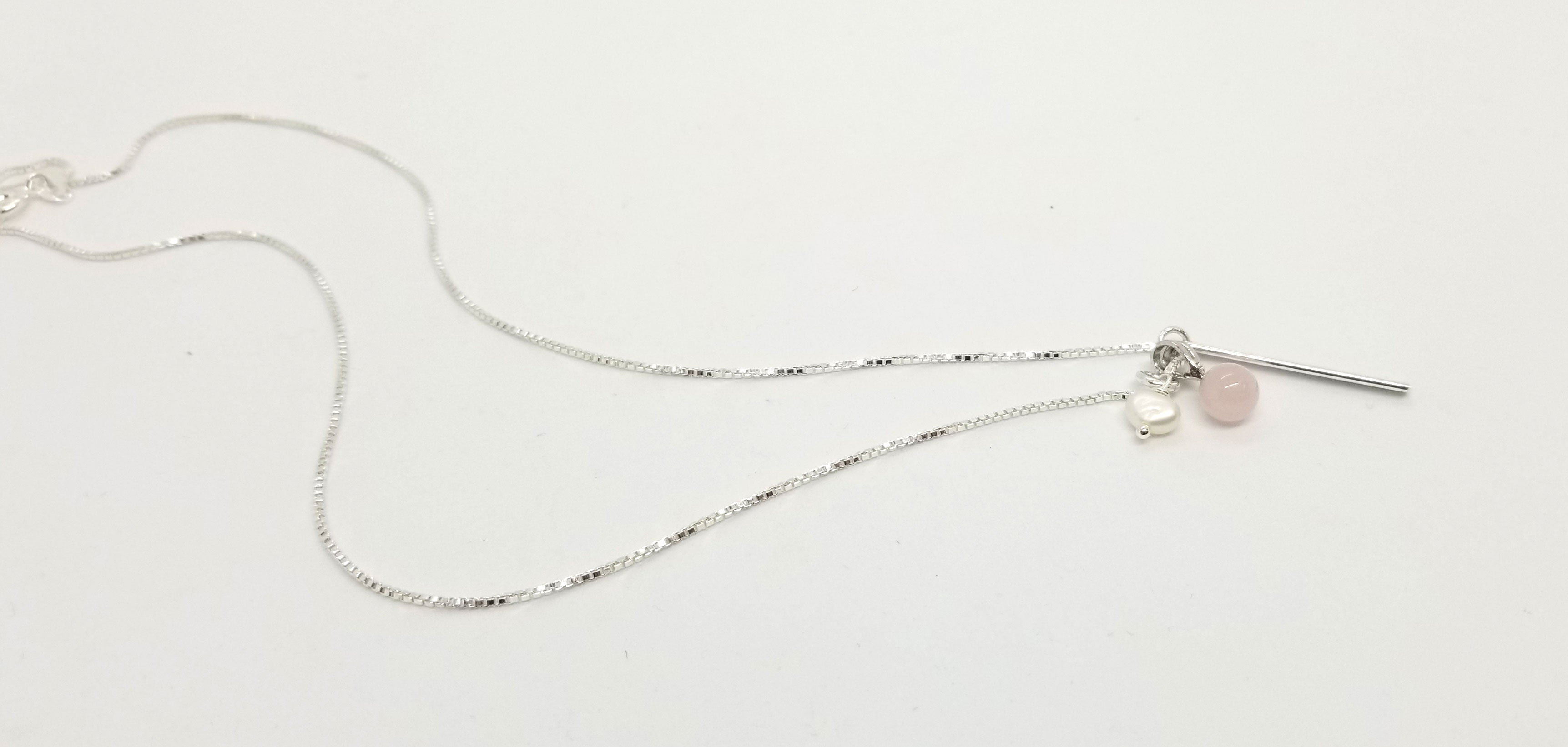 The Cherry Blossom Silver Necklace