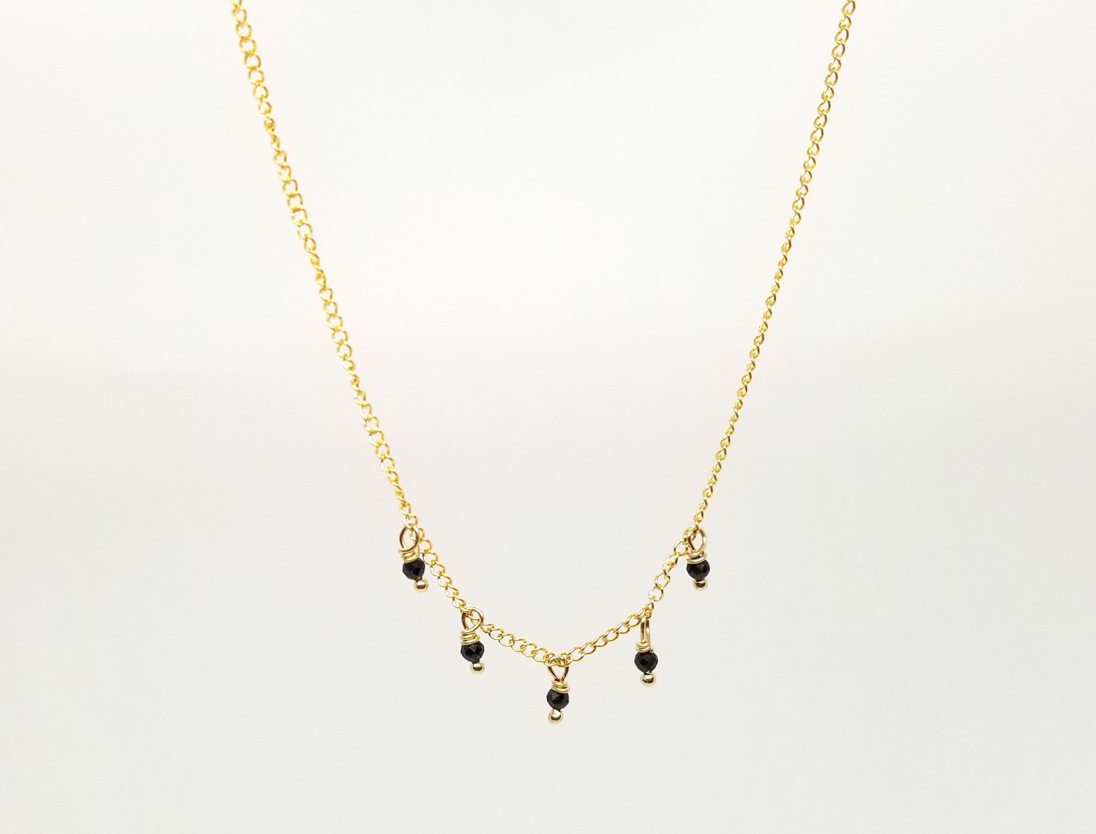 The Krista Gold Necklace