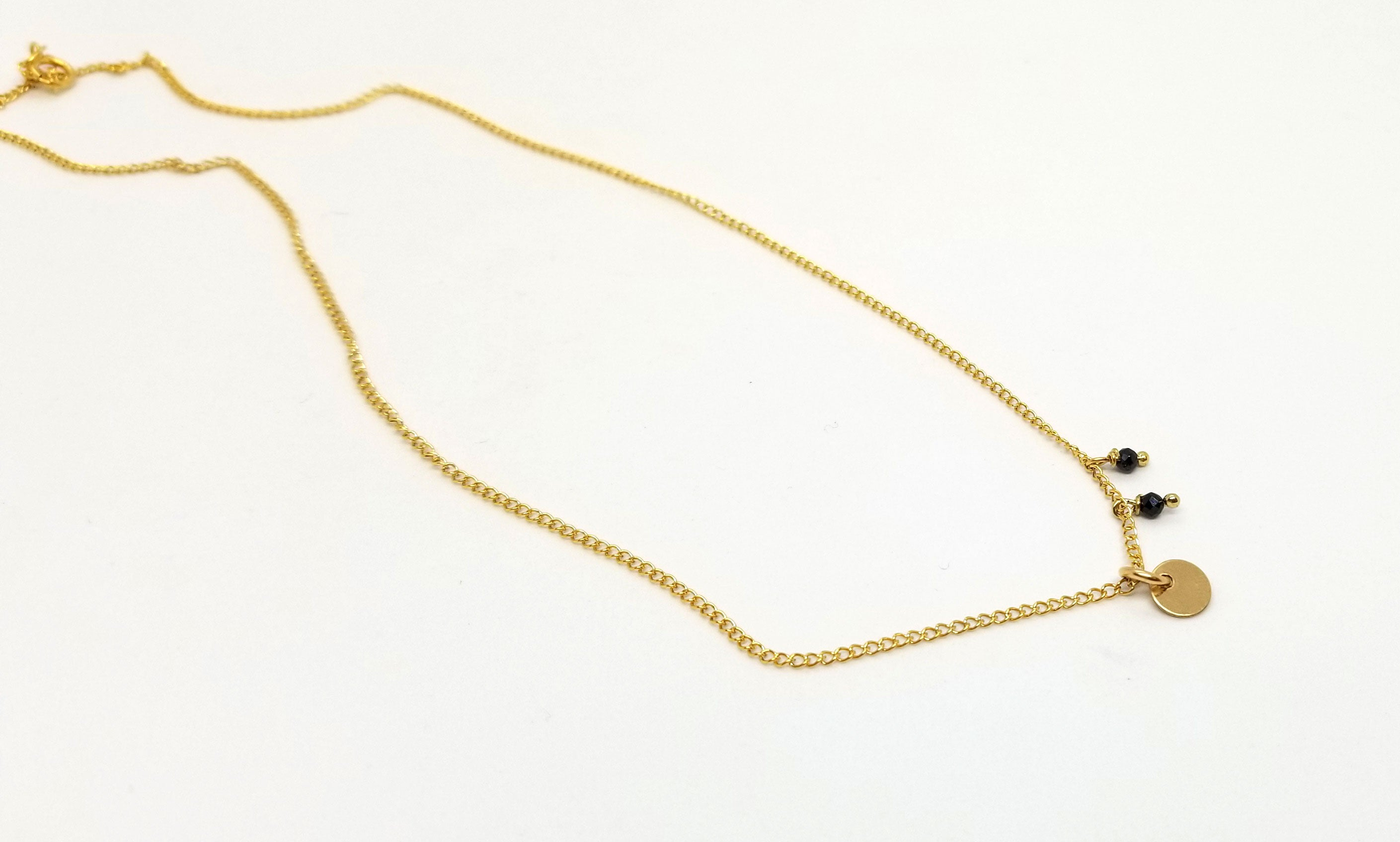 The Kimberly Gold Necklace