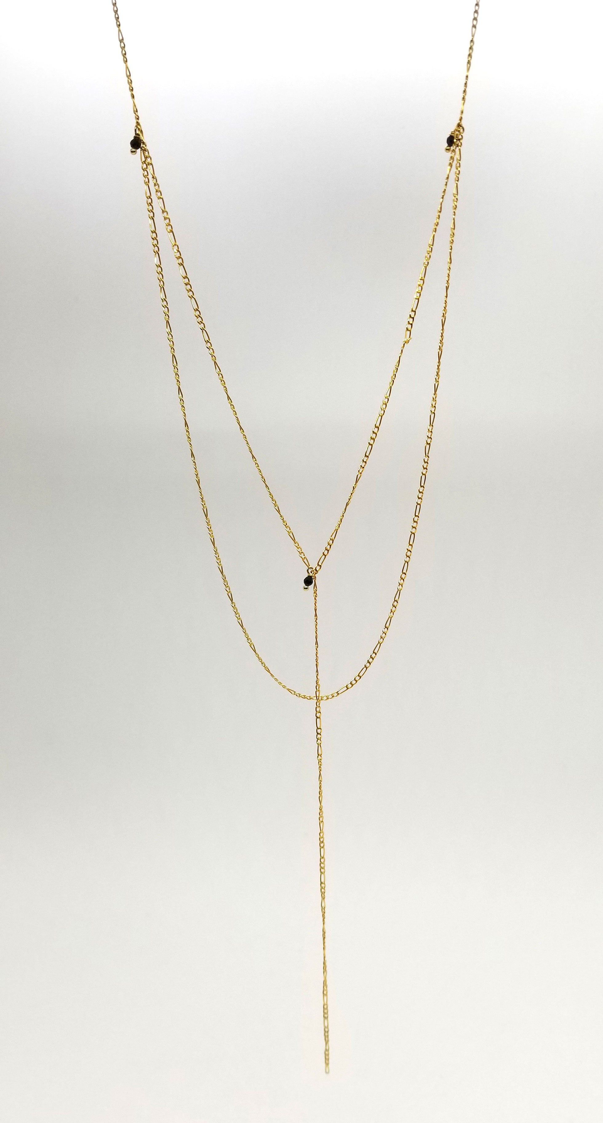 The Dobbelt Layer Gold Necklace