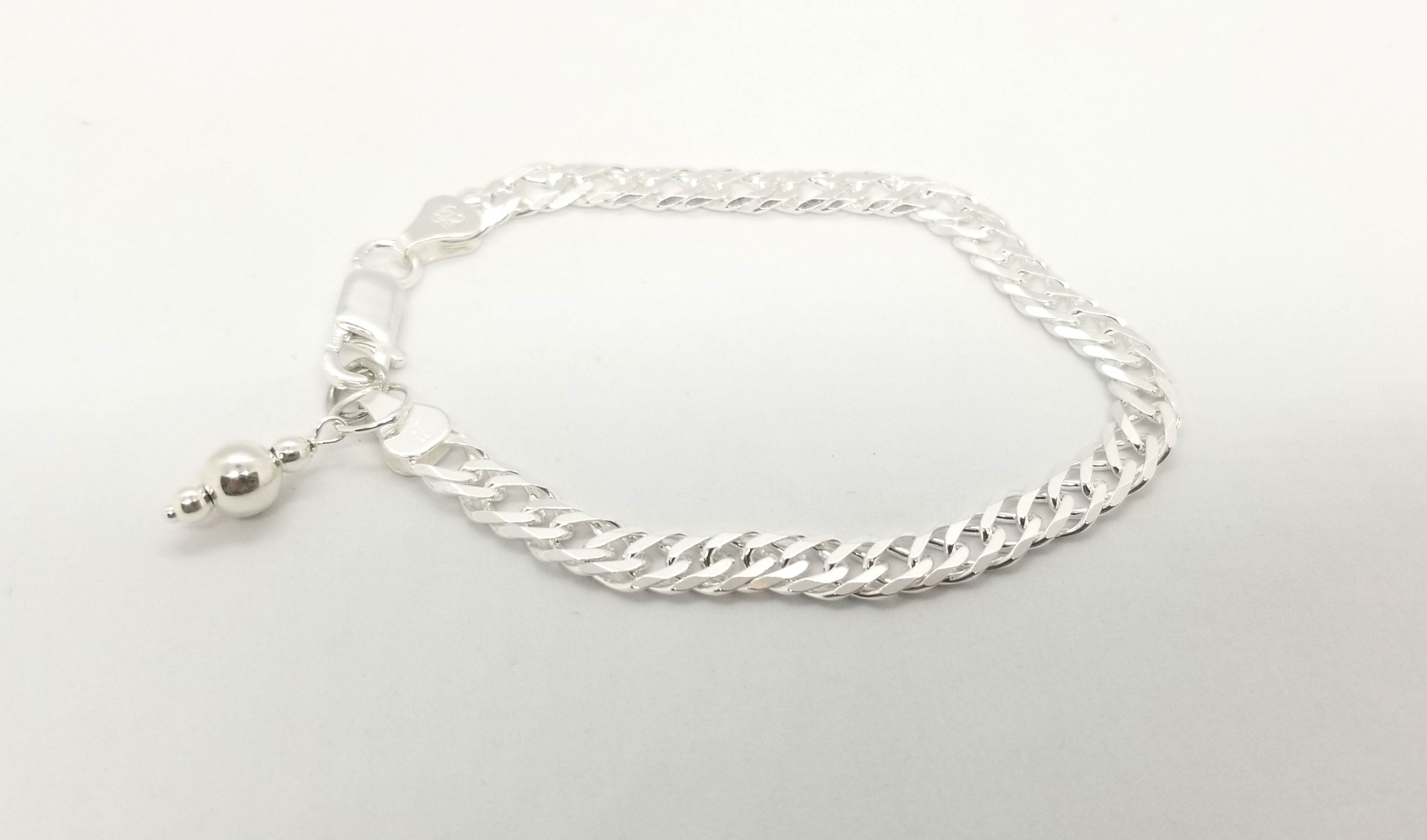 The Riley Silver Bracelet