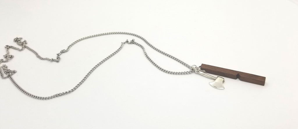Lumberjack Walnut Chain Necklace