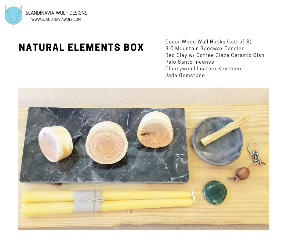 Natural Elements Box- Pre-Order for pick up or Squamish delivery