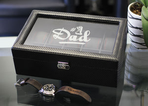 Personalized Watch Box The Perfect Father's Day Gift