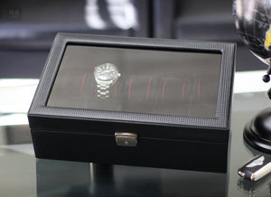 Safeguard expensive watches with Carbon Fiber watch boxes