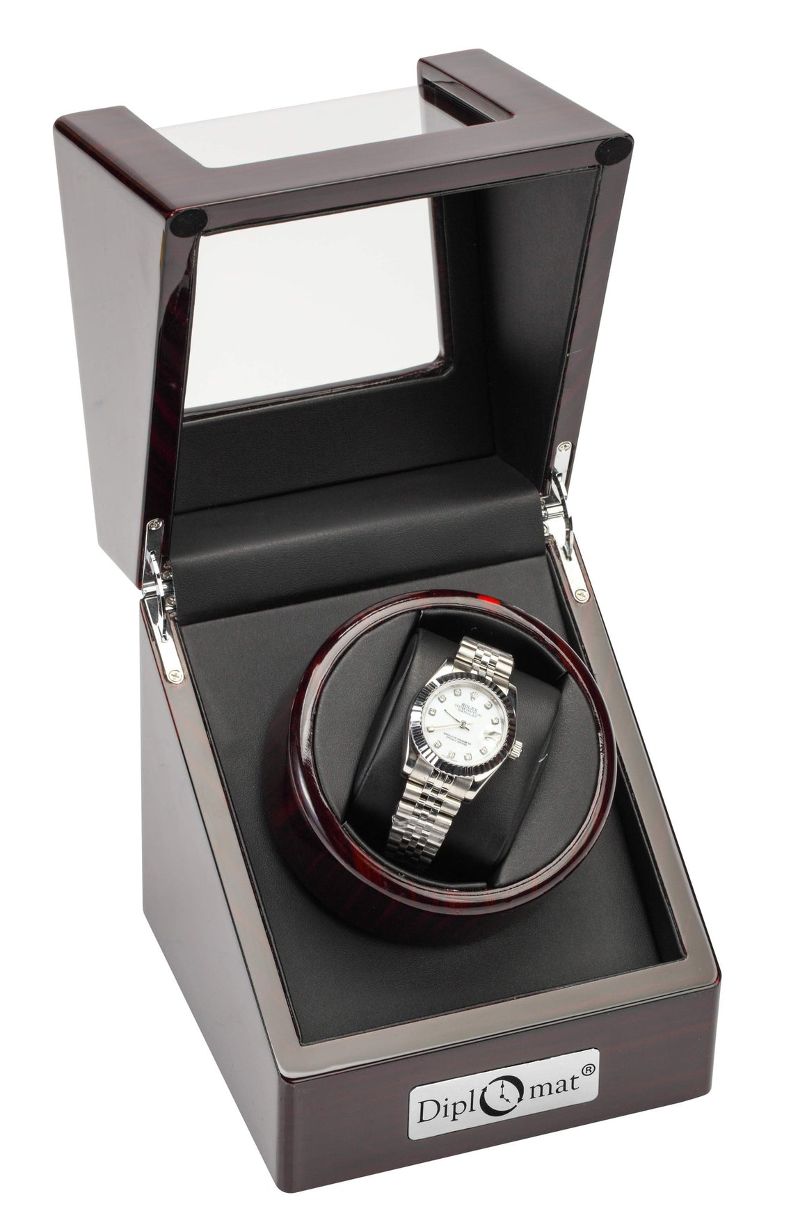 Single Watch Winder For Large Faced Watches