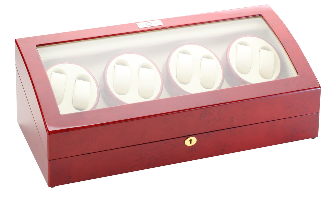 Diplomat Rosewood Eight Watch Winder - Watch Box Co. - 2