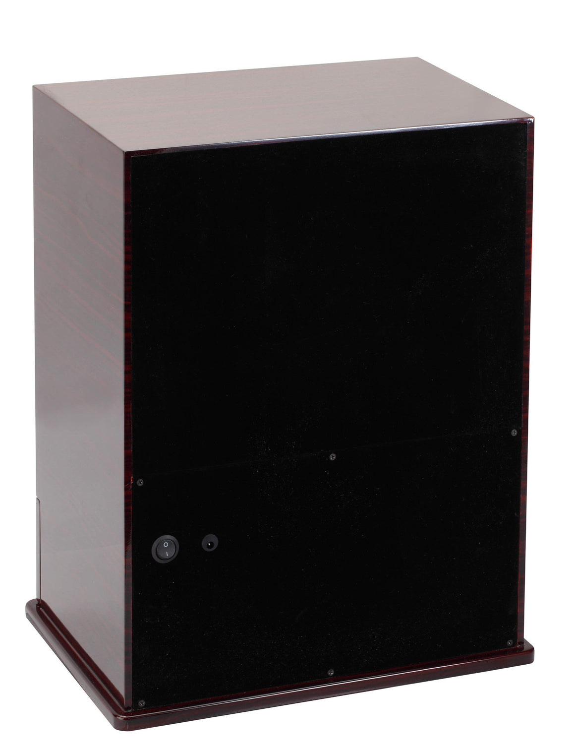 Diplomat Estate Collection Ebony Wood Nine Watch Winder - Watch Box Co. - 3