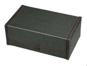 (10) Diplomat Carbon Fiber Watch Box with Extra Storage Tray - Watch Box Co. - 2