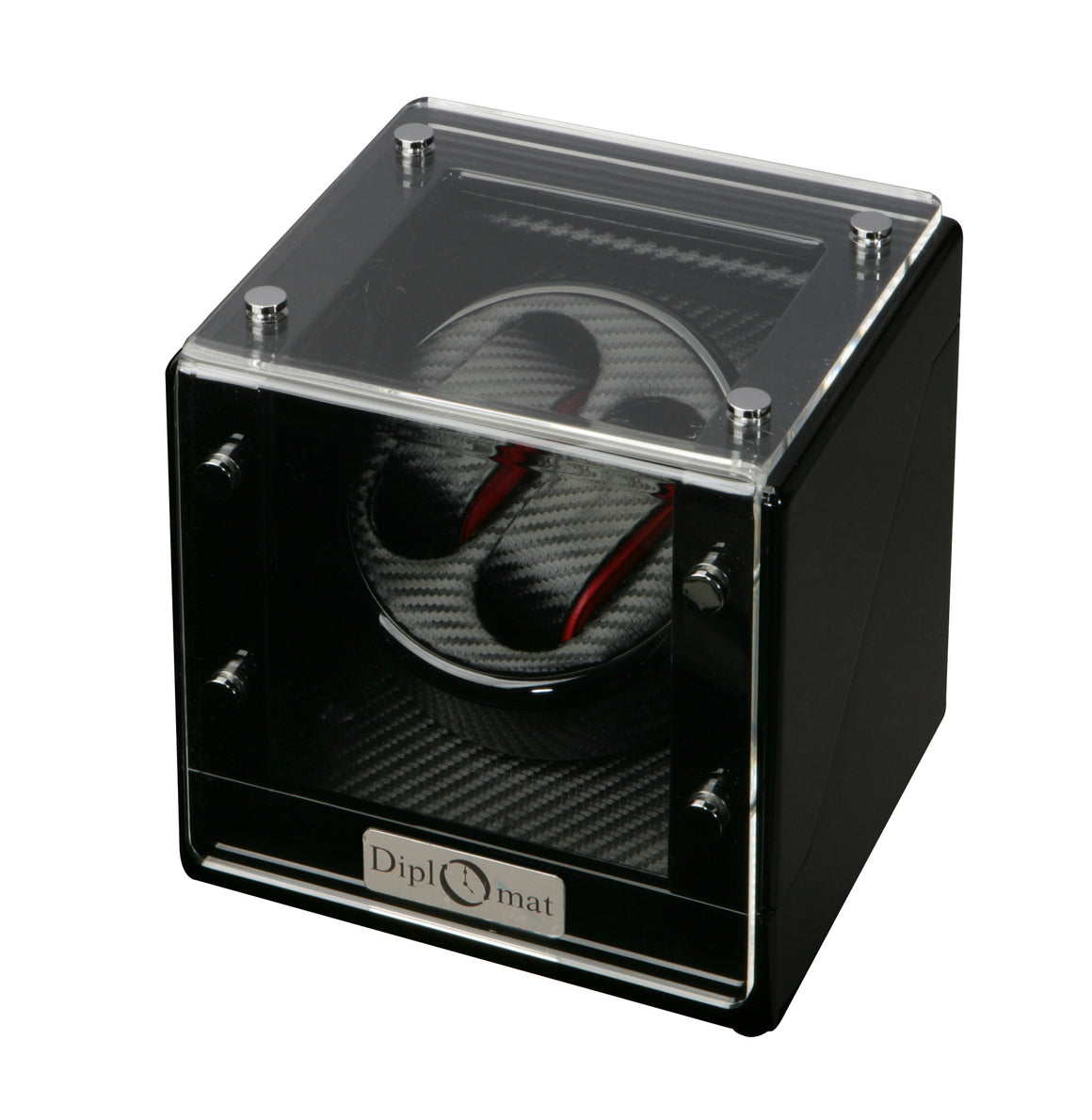 Diplomat Race Edition Double Watch Winder - Watch Box Co. - 2