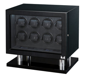 Volta Carbon Fiber Eight Watch Winder - Watch Box Co. - 1
