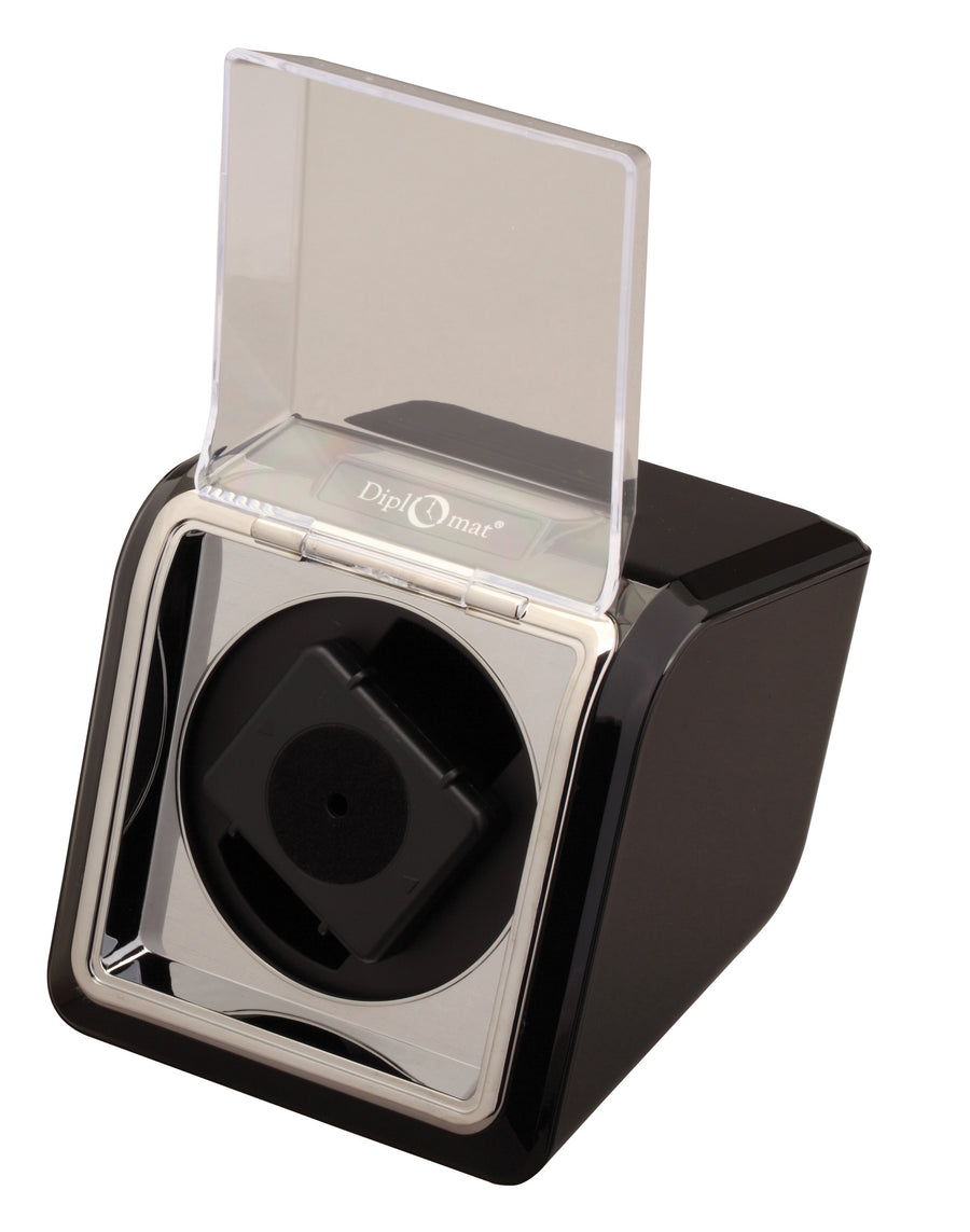 Diplomat Economy Single Watch Winder - Watch Box Co. - 1