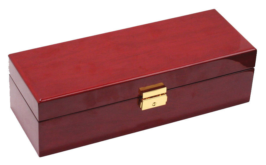 (5) Glossy Solid Top Rosewood watch box - Watch Box Co. - 2