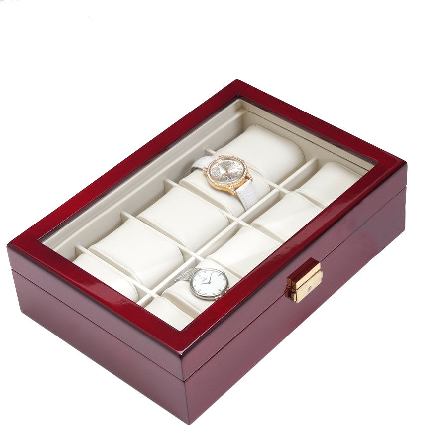 10 Piece Rosewood Watch Box - Watch Box Co. - 2