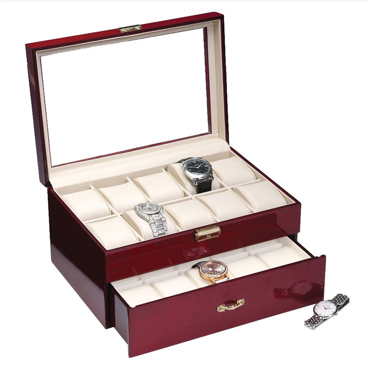 20 Piece Rosewood Watch Box - Watch Box Co. - 1
