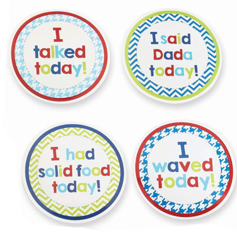 Boy Month Milestone Stickers - Time Your Gift - 4