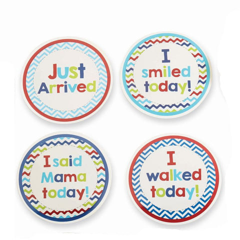 Boy Month Milestone Stickers - Time Your Gift - 3