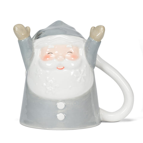 Santa with Snowy Beard Flip Mug
