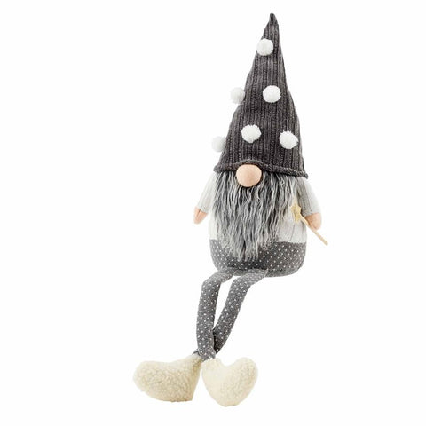 Gray Deluxe Dangle Gnome (3 styles available)