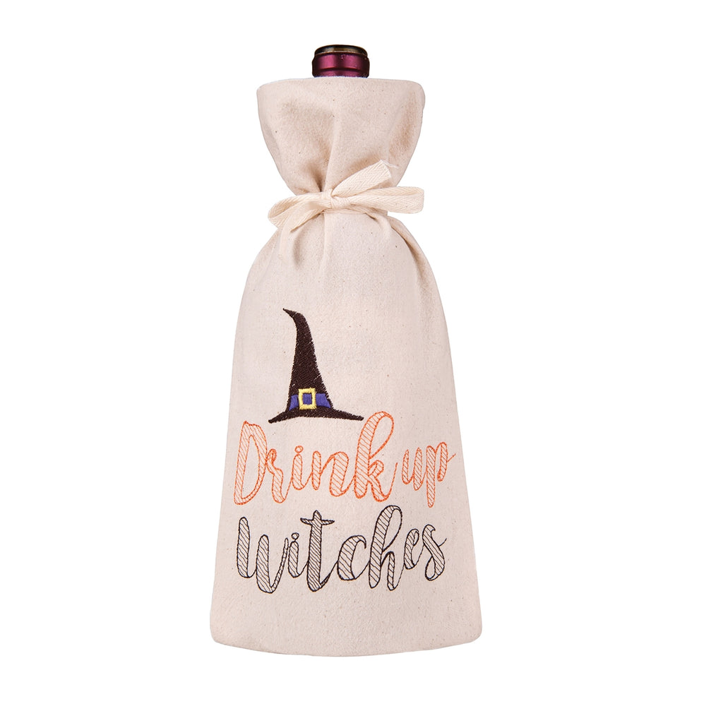 Drink up witches Wine Bag